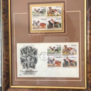 American Kennel Club First Day Stamps 9/7/1984
